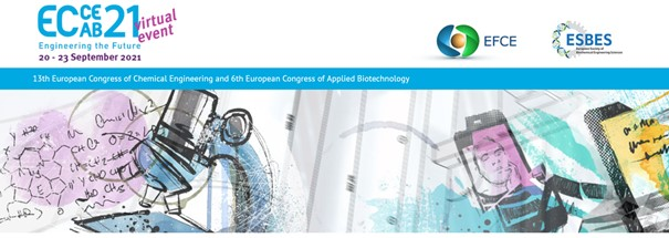 BlackCycle was present at 13th European Congress of Chemical Engineering (virtual event) – 20 to 23 September 2021
